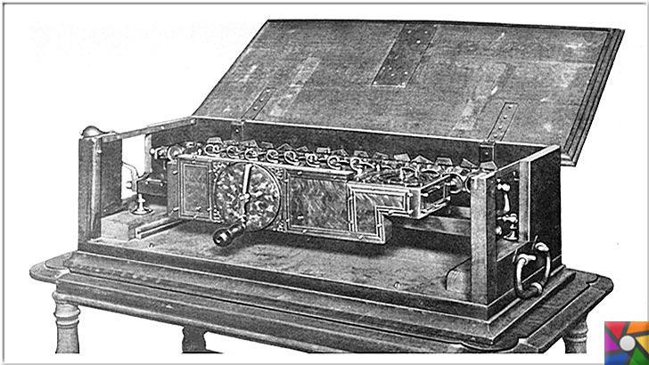 Gottfried Wilhelm Leibniz Kimdir? Hayatı, Biyografisi ve İcatları | Gottfried Wilhelm Leibniz'in ilk mekanik hesaplama makinesi: Adımlı Reckoner | Stepped Reckoner