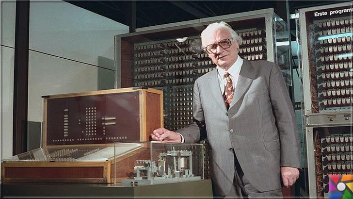 Konrad Zuse kimdir? Konrad Zuse'nin Hayatı ve Biyografisi | Konrad Zuse, programlanabilen bilgisayarların mucidi olarak tarihe geçmiştir
