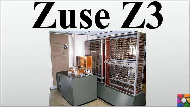 Konrad Zuse kimdir? Konrad Zuse'nin Hayatı ve Biyografisi   Zuse Z3 halen ayakta müzede sergilenmekte