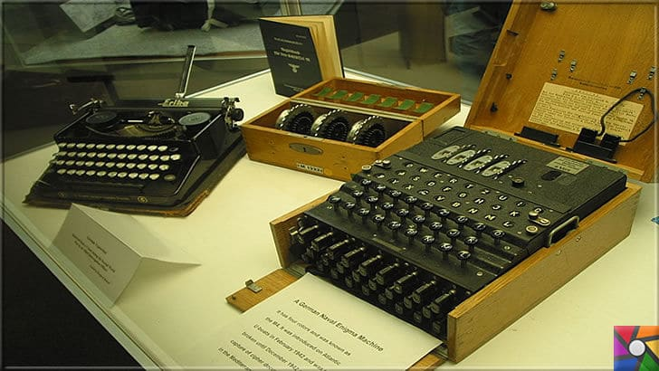 Nazilerin şifrelerini kırmak için üretilen ilk dijital dev bilgisayar: Colossus | İlk bilgisayarların atası olmasına rağmen kötü şöhretinden dolayı şimdilerde pek anılmayan Enigma Makinesi