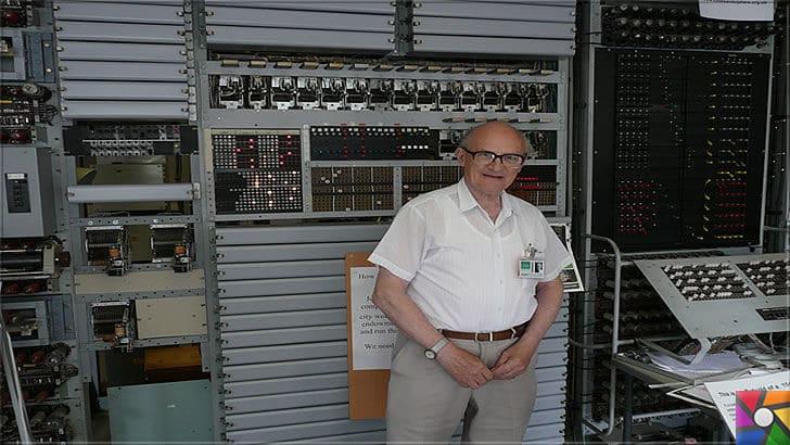 Nazilerin şifrelerini kırmak için üretilen ilk dijital dev bilgisayar: Colossus | Ona tekrar hayat veren Tony Sale