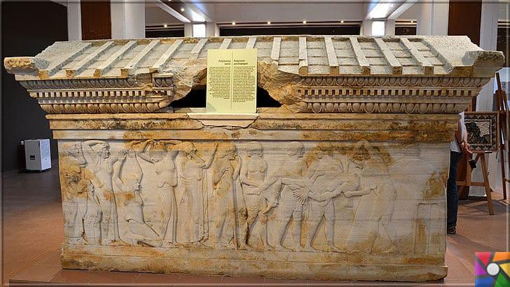 Türkiye'nin en eski lahdi Polyksena Lahdi Nerede? Tarihçesi ve Özellikleri | Polyksena Lahdi şimdi Çanakkale Arkeoloji Müzesinde