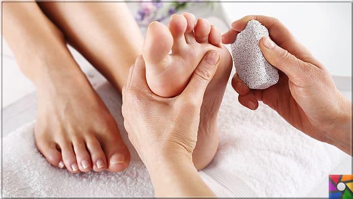Kuru ve çatlamış ayaklar için evde yapılabilecek kolay ve pratik 20 tarif | Ayak bakımında el altında olması gereken pomza taşı