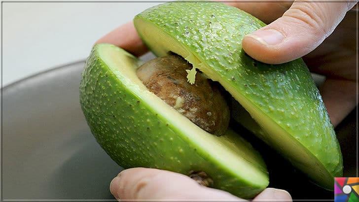 Neden Avokado yemeliyiz? Süper besin Avokadonun faydaları nelerdir? | Süper besin Avokadoyu dikine kesin ve elinizle ortadan ikiye bölüp, içindeki çekirdeğini çıkartın