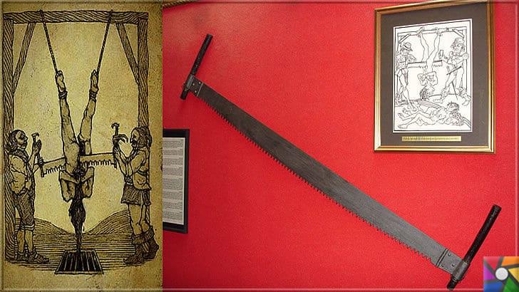 Ortaçağ Avrupa'sında yapılan insanlık dışı 10 işkence aleti ve yapılış şekli | Testere İşkence aleti