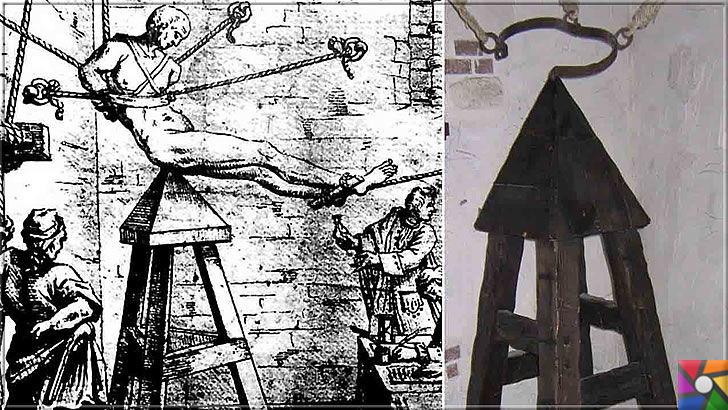 Ortaçağ Avrupa'sında yapılan insanlık dışı 10 işkence aleti ve yapılış şekli | Judas Sandalyesi (Yahudi Kazığı) İşkence aleti