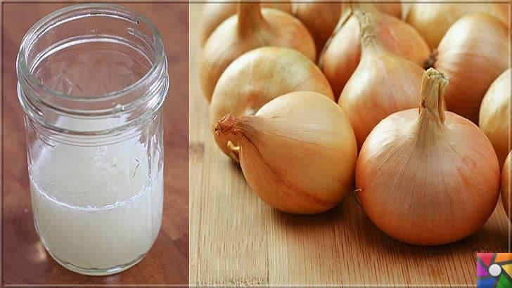 Sağlıklı, hacimli, güçlü saçlar için soğan suyu ile yapılan 11 bitkisel tarif | Erkek yada kadında Sağlıklı saçlar için kesinlikle soğan suyu tariflerini uygulayın