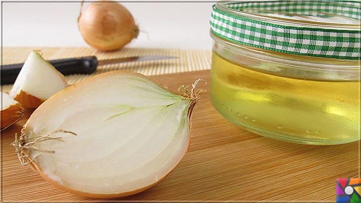 Sağlıklı, hacimli, güçlü saçlar için soğan suyu ile yapılan 11 bitkisel tarif | Zeytinyağı ve soğan suyu çok iyi bir saç bakım ikilisidir