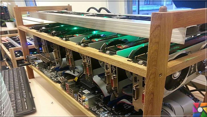 Son Zamanların Gözdesi Olan Bitcoin Nedir? Bitcoin Madenciliği Nedir? | bitcoin veri madenciliği yani kısaca mining işini yapmak için çok fazla ekran kartına ihtiyacınız var