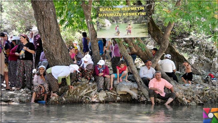 Antalya'nın görülmesi gereken harika 7 kanyonu nerede? Nasıl gidilir? | Ahmetli Kanyonu yada Ahmetler Kanyonu çevre köy sakinleri HES yapılmasını karşılar