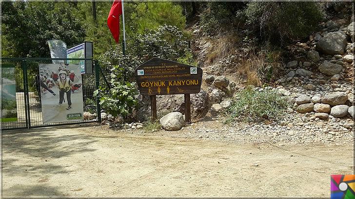 Antalya'nın görülmesi gereken harika 7 kanyonu nerede? Nasıl gidilir? | Göynük Kanyonunun girişi