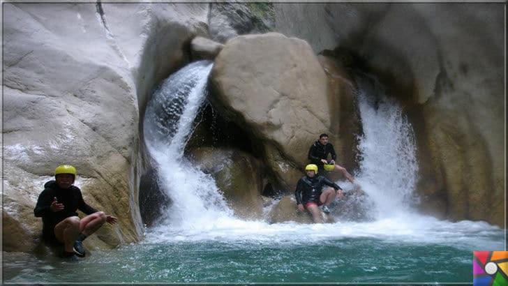 Antalya'nın görülmesi gereken harika 7 kanyonu nerede? Nasıl gidilir? | Göynük Kanyonu doğa sporları için harika bir yer