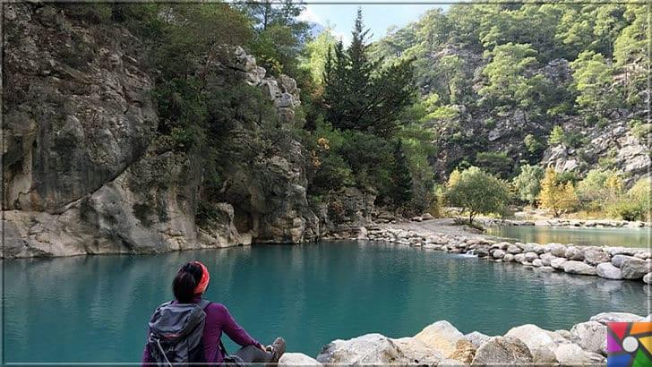 Antalya'nın görülmesi gereken harika 7 kanyonu nerede? Nasıl gidilir? | Göynük Kanyonu içindeki doğal göletlerde yorgunluğunuzu ve stresinizi tamamen atabilirsiniz