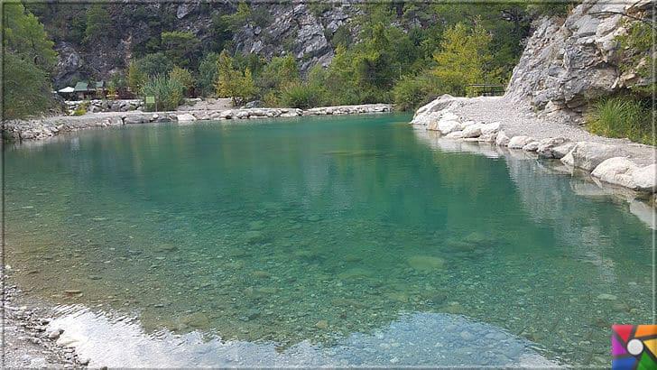 Antalya'nın görülmesi gereken harika 7 kanyonu nerede? Nasıl gidilir? | Göynük Kanyonu içindeki doğal göletler