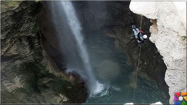 Antalya'nın görülmesi gereken harika 7 kanyonu nerede? Nasıl gidilir? | Güver Uçurumu Kanyonu profesyonel doğa sporcuların en sevdiği yerlerden biri