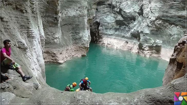 Antalya'nın görülmesi gereken harika 7 kanyonu nerede? Nasıl gidilir? | Güver Uçurumu Kanyonu göletlerine bayılacaksınız