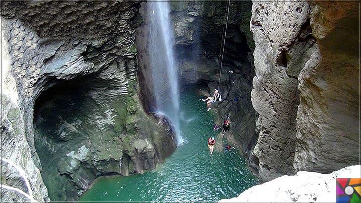 Antalya'nın görülmesi gereken harika 7 kanyonu nerede? Nasıl gidilir? | Güver Uçurumu Kanyonu teknik ekipmanlarla tepeden aşağı inerek saklı kalmış harika göletlerine girebilirsiniz