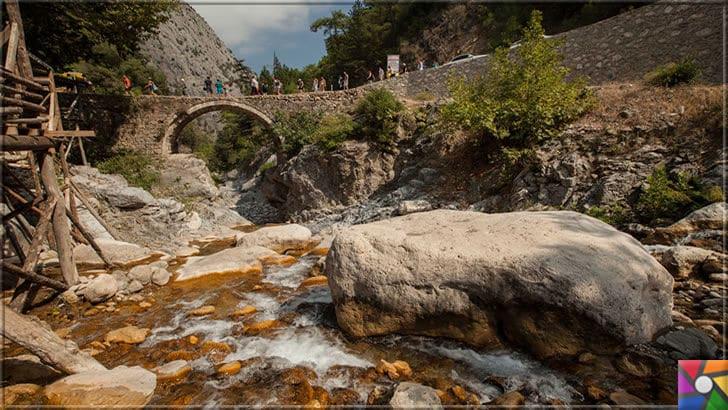 Antalya'nın görülmesi gereken harika 7 kanyonu nerede? Nasıl gidilir? | Kesme Boğaz Kanyonundaki tarihi Roma köprüsü