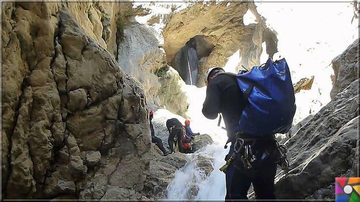Antalya'nın görülmesi gereken harika 7 kanyonu nerede? Nasıl gidilir? | Kıbrıs Kanyonu teknik olarak ekipmanlarla gezilebilir