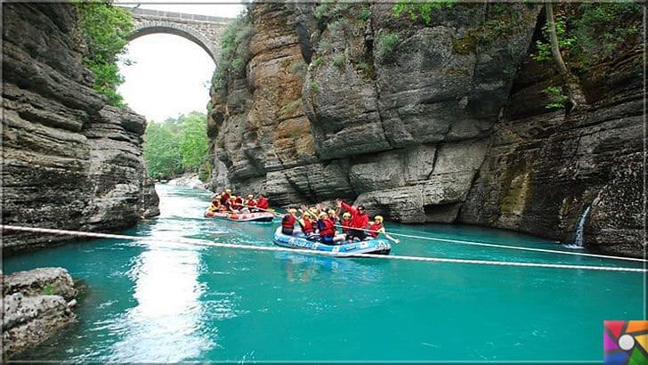 Antalya'nın görülmesi gereken harika 7 kanyonu nerede? Nasıl gidilir? | Köprülü Kanyonunda rafting bir harika