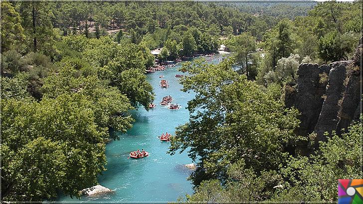 Antalya'nın görülmesi gereken harika 7 kanyonu nerede? Nasıl gidilir? | Köprülü Kanyonu doğa sporları için çok elverişli