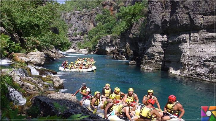 Antalya'nın görülmesi gereken harika 7 kanyonu nerede? Nasıl gidilir? | Köprülü Kanyonu doğa sporları için çok eğlenceli