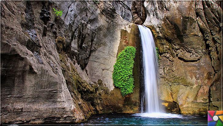 Antalya'nın görülmesi gereken harika 7 kanyonu nerede? Nasıl gidilir? | Sapadere Kanyonundan bir şelale