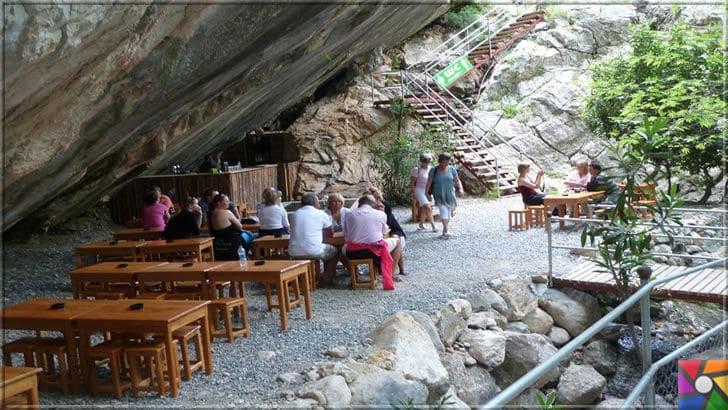 Antalya'nın görülmesi gereken harika 7 kanyonu nerede? Nasıl gidilir? | Sapadere Kanyonunda bulunan dinlenme yerlerinde doğal ortamda bir çaya ne dersiniz?