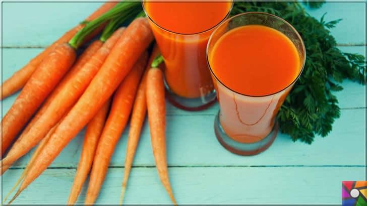 Kalp ve Damar Sağlığı için tüketilmesi gereken en önemli 40 süper gıda | Havuç suyu içmeyi ihmal etmeyin