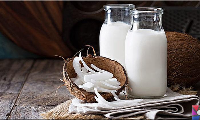 Hindistan Cevizi sütü nasıl yapılır? Hindistan Cevizi sütü ile 9 saç kürü