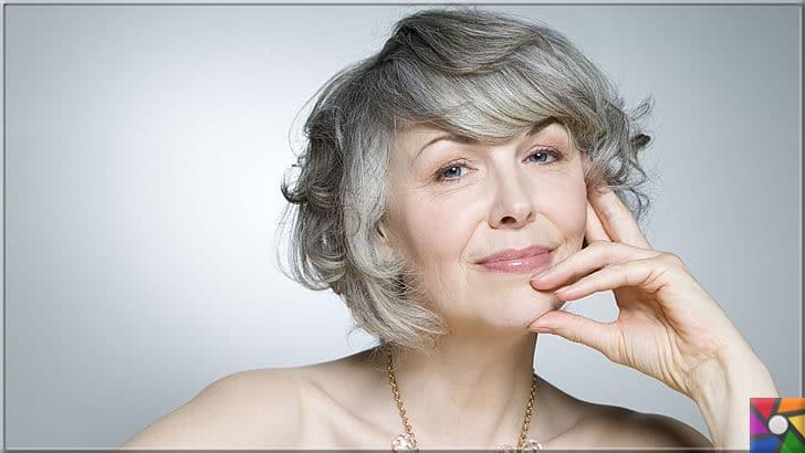 Kadınların yeni saç modası Gri Saçlar nasıl yapılır? Kendin Yap | Bazen doğal bir gri saç, diğer renklerin verdiği havayı asla veremez