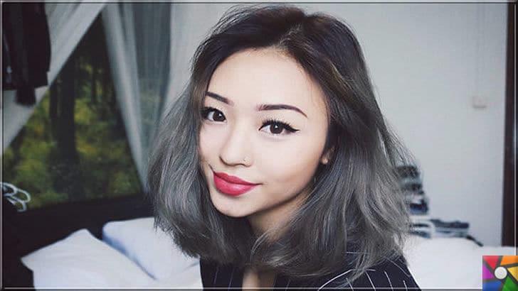 Kadınların yeni saç modası Gri Saçlar nasıl yapılır? Kendin Yap | Gri saç modeli özellikle Kore ve Japonya'da yeni saç trendlerinde 1 numarada
