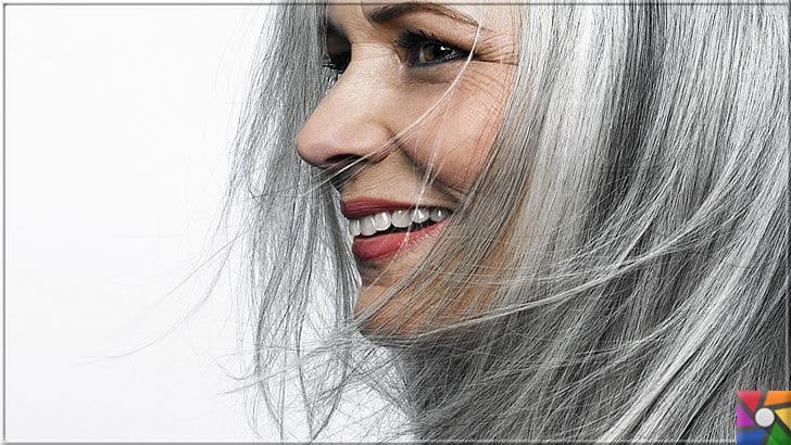 Kadınların yeni saç modası Gri Saçlar nasıl yapılır? Kendin Yap | Artık saçlara ak düşmesi pekte kadınların sorunu gibi gözükmüyor