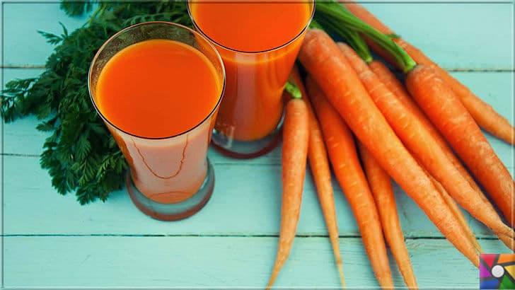 Sağlıklı bir Karaciğer için tüketilmesi gereken en iyi 21 gıda | Havuç yiyemiyorsanız mutlaka suyunu için