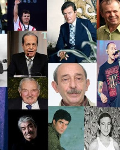 2017 yılında aramızdan ayrılan 43 ünlü kişi kimdir?