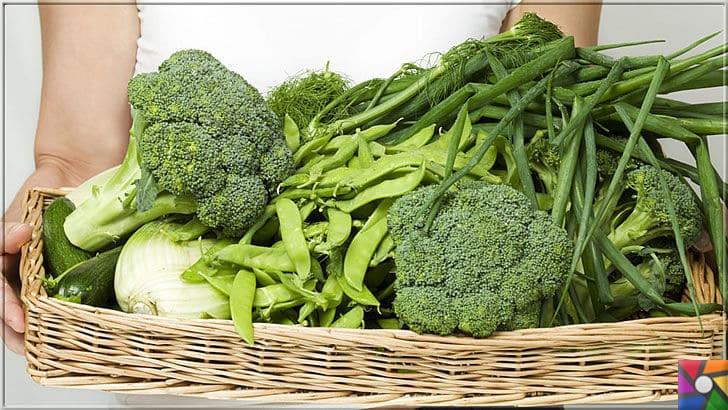 B5 Vitamini (Pantotenik Asit) Nedir? B5 Vitamini nelerde bulunur? | B5 Vitamini ve diğer vitaminler bakımından da bolca olan yeşil sebzeleri sofranızdan eksik etmeyin