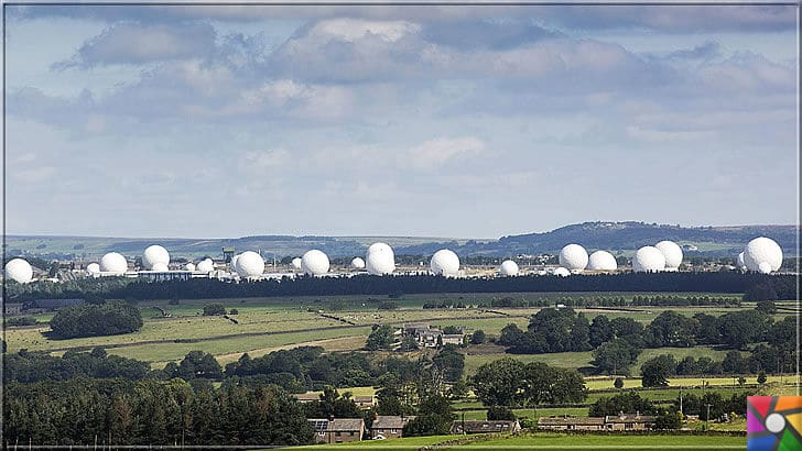 Dünyada girilemeyen 5 yasaklı bölge nerede? Yasaklı bölgelerin sırları ne? | RAF (Kraliyet Hava Kuvvetleri) Menwith Hill'deki koca teleskoplar