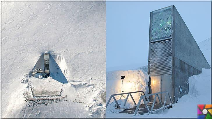 Dünyada girilemeyen 5 yasaklı bölge nerede? Yasaklı bölgelerin sırları ne? | Svalbard Tohum Deposu (Kıyamet ambarı) girişi