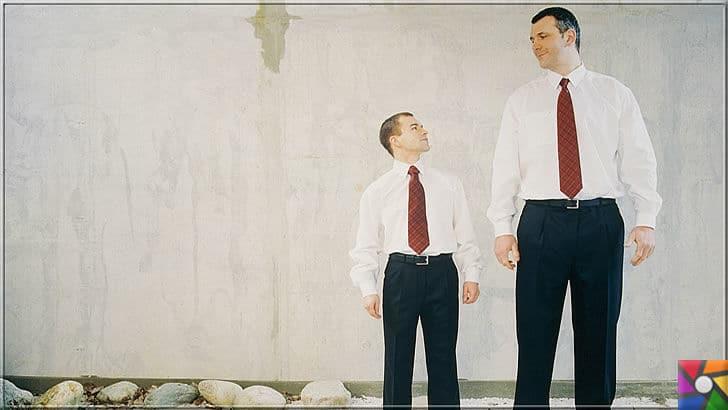İnsan boyu genetikle mi belirleniyor? Kısa boy mu, uzun boy mu avantajlı? | Uzun boylular iş bakımından kısalara göre daha hızlı kariyer yapar