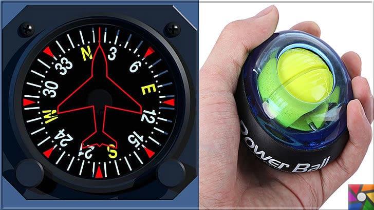 Jiroskop Nedir? Jiroskopların Tarihçesi ve Nelerde kullanılır? | Uçaklarda dengeyi sağlayan jiroskop, powerball'da da kullanıldı