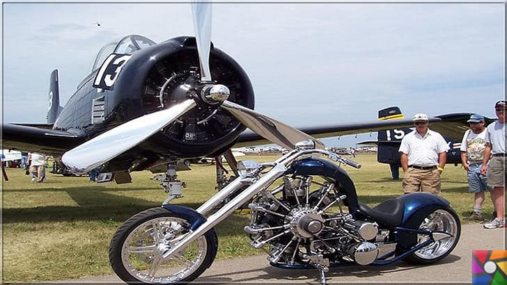 Radyal Motor Nedir? Radyal (Yıldız Tipi) Motor Nasıl Çalışır? | Radyal Motorlu uçak ve motorsiklet