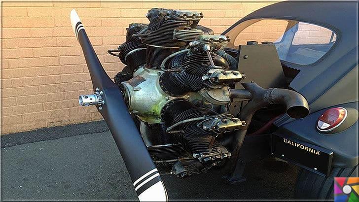 Radyal Motor Nedir? Radyal (Yıldız Tipi) Motor Nasıl Çalışır? | Eski volswagen kaplumbağa dediğimiz modele Radyal Motor takıyorlar