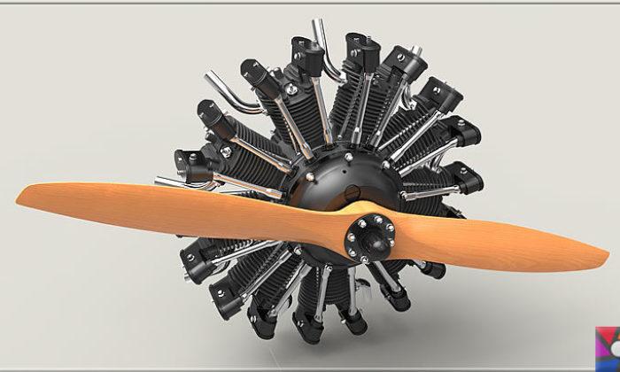 Radyal Motor Nedir? Radyal (Yıldız Tipi) Motor Nasıl Çalışır?