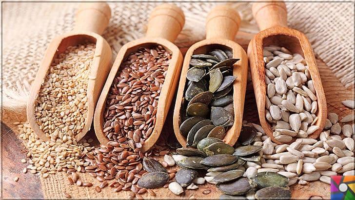 Serotonin nedir? Serotonini arttırmak için en iyi 10 doğal kaynak nedir? | Lignan kaynakları olan tohumluklardan Keten Tohumu çekirdeği ve Kabak çekirdeği içindeki kaliteli proteinlerle Serotonin üretimini destekler