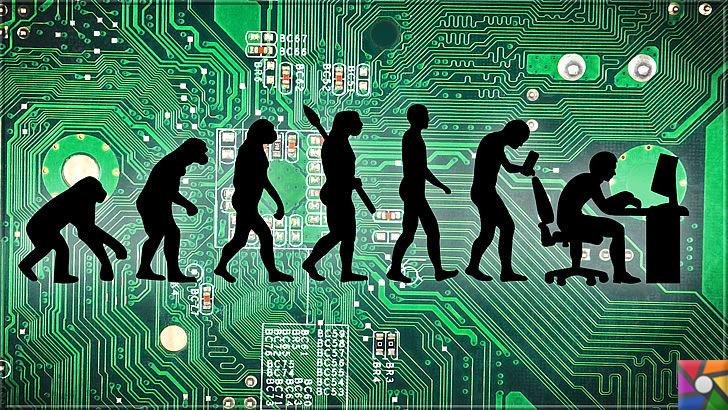 Teknoloji insanoğlunun gizli düşmanı mı? Teknolojinin gizlenen zararları | Teknolojinin insan üzerindeki gelişiminin temsili resmi