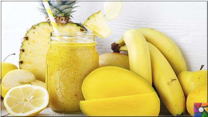 Evde doğal enerji içeceği nasıl yapılır? Kolay ve hızlı 20 enerji içeceği tarifi | Ananas gibi tropikal meyveler metabolizma hızlandırır ve yağ yakar