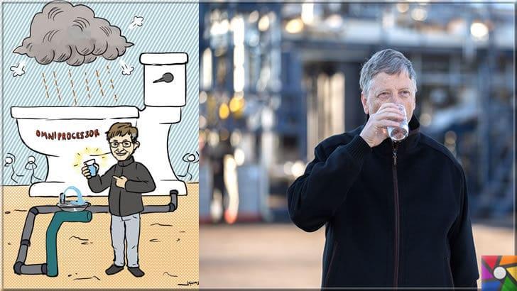 Gelecekte içme suyu sorunu nasıl çözülecek? Atık sular tekrar içilebilir mi? | Bill Gates atık suları geri kullanma tesisleri kurdu bile. Hatta buradan elde ettiği suyu kendi de içtiğini söylüyor