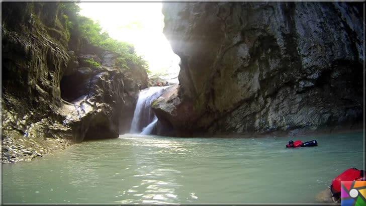 Kastamonu'da gezilmesi gereken 6 harika kanyon ve özellikleri | Horma kanyonu içinde havuz niteliğinde bir çok göletin var olduğunu göreceksiniz