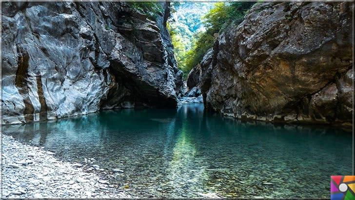 Kastamonu'da gezilmesi gereken 6 harika kanyon ve özellikleri | Şehriban Kanyonu içinden geçen Şenpazar Çayı yılın her zamanında akıyor ve Karadeniz'e dökülüyor. Fakat bazı yerlerde harika göletler oluşturuyor