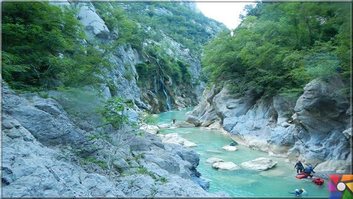 Kastamonu'da gezilmesi gereken 6 harika kanyon ve özellikleri | Valla kanyonu doğa sporları için örnek yerlerden biri